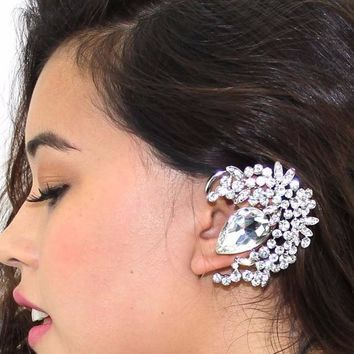 Crystal Spray Ear Cuff