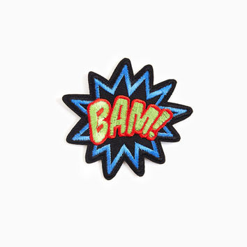 Comic Bam Iron On Patch | Wet Seal