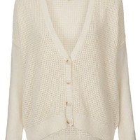 Knitted Short Grunge Cardi - New In This Week  - New In