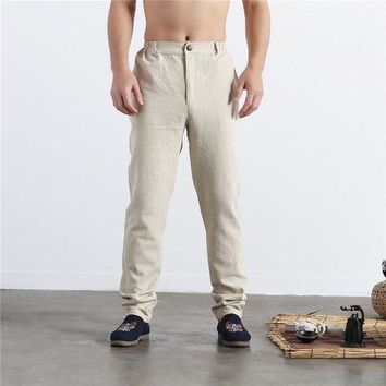 DCCKON3 rushed tactical pants during thefeet men of cultivate morality show Mens leisure of height