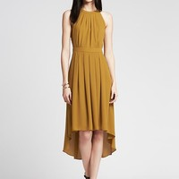 Heritage Crepe High-Low Patio Dress