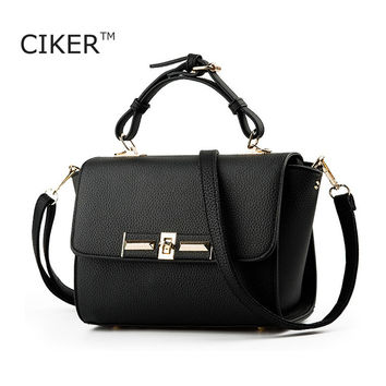 CIKER Brand Style Women Messenger Bags Ladies Tote Small shoulder bags woman leather handbag crossbody bag cute designer bolsas