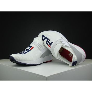 Fila Destroyer 1825 White Running Shoes Size 36-44.5