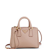 Prada - Saffiano Lux Mini Satchel - Saks Fifth Avenue Mobile