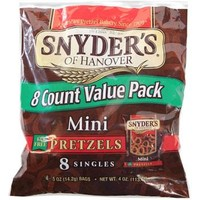Snyder's Mini Pretzels, 8-Bag Packs