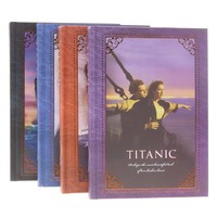 Free Shipping 1 Pcs Revisit The Classic Retro Fashion Korean Titanic Notebook Notepad Page Color Book Illustrator