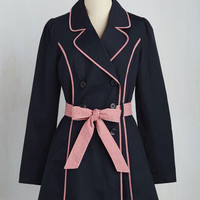East Coast Tour Coat in Navy