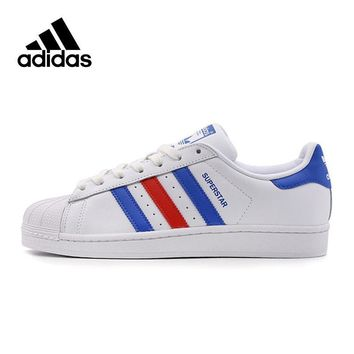 PEAPON Original New Arrival Official Adidas Superstar Classics Men's Skateboarding Shoes Sneakers