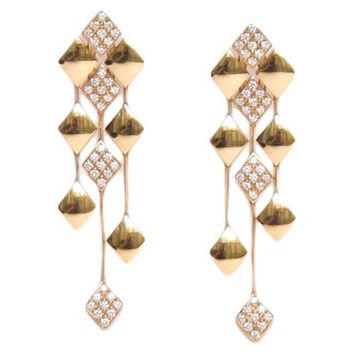 CHANEL Earrings in Yellow Gold 18K and Diamonds