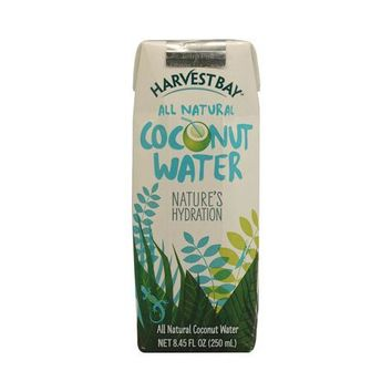 Harvest Bay All Natural Coconut Water - 8.5 Fl Oz - Case Of 12