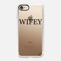 Wifey iPhone 7 Case by Love Lunch Liftoff | Casetify