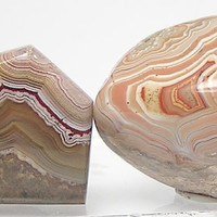 Fairburn Agate Polished Craft Stones for Jewelry Making Wire Wrapping Supply Palm Stone Display it or Wear it