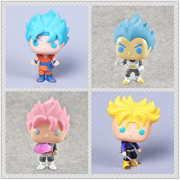 Dragon Ball super Toy Son Goku Action Figure Anime Super Vegeta POP Model Doll Pvc Collection Toys For Children Christmas Gifts
