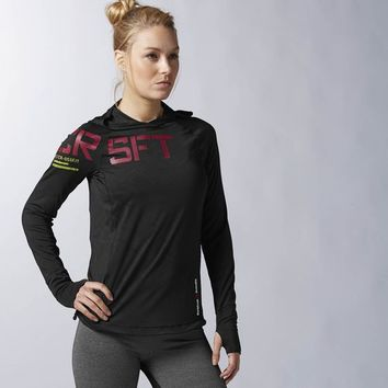 Reebok CrossFit Motion Hoodie - Black | Reebok US