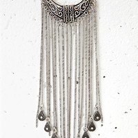 Teardrop Fringe Necklace