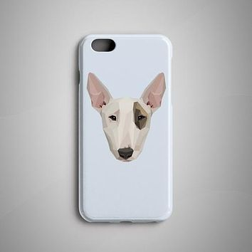Geometric Bull Terrier iPhone 8 Case iPhone 7 Case