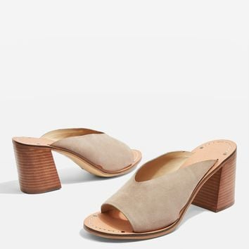 Netty Block Heel Mule Sandals | Topshop