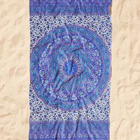 Ophelia Medallion Beach Beach Towel