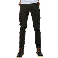 Fashion  Pants Men Loose Baggy Tactical Trousers Men's Sweat Trousers Casual Clothing Male Overalls Mens
