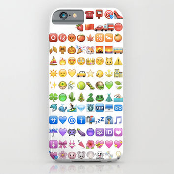 Emoji icons by colors iPhone & iPod Case by Gal Raz