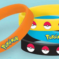 Pokemon Rubber Bracelets