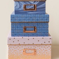 Northern Lights Storage Box Set | francesca's