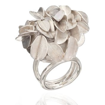 All NEW Desert Rose Silver Ring Large