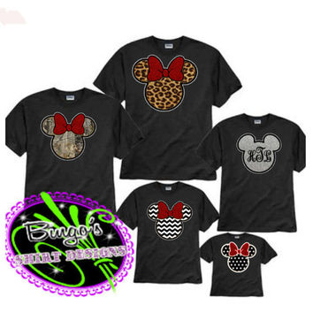 Free Shipping Custom Inspired Minnie Mouse by BingosShirtDesigns