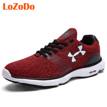 LoZoDo 2016 New Men's Sneakers Athletic Running Shoes For Men Eur 39-44 Comfortable Outdoor Walking Sport Jogging Shoes Male