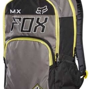 Gliks - Fox Racing Let's Ride Exhaust Backpack in Graphite