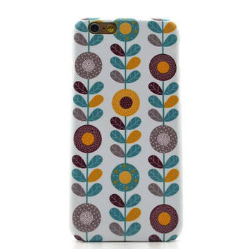 Floral iphone 6 case iphone 6 plus case flower iphone 5S case floral galaxy s6 edge iphone 4S case galaxy S5 floral LG G3 G4 Sony Xperia Z3
