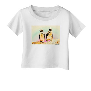 Magellanic Penguin Watercolor Infant T-Shirt