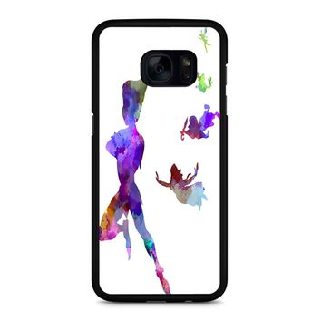 Peter Pan In Watercolor Samsung Galaxy S7 Edge Case