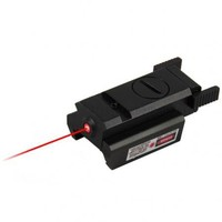 Tactical Compact Pistol Rail Red Laser Sight - Weaver Rail US Seller