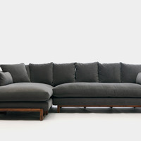 ARTLESS LRG Sofa and Ottoman