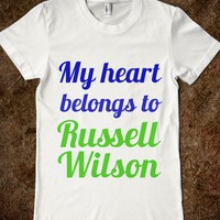 MY HEART BELONGS TO RUSSELL WILSON