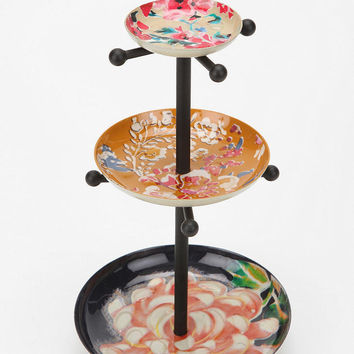 Urban Outfitters - Mixed Enamel Plates Jewelry Stand