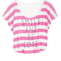 Smile And Be Cute Tee