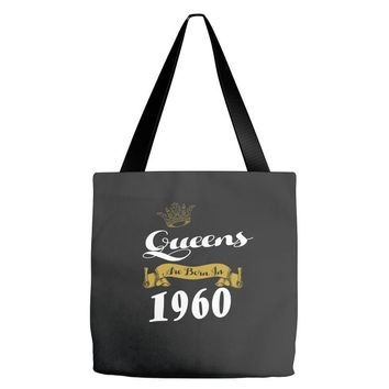 queens are born in 1960 Tote Bags