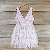Drizzling Mist Dress in Dusty Lavender