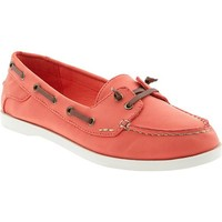Women's Sueded Boat Shoes