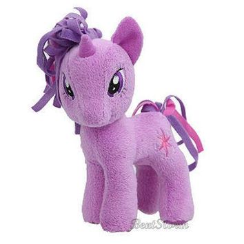 "Licensed cool RARE 5 1/2"" My Little Pony Plush TWILIGHT SPARKLE Toy Doll Plushie MLP NEW W/TAG"