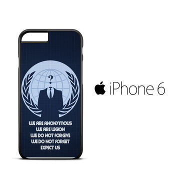 anonymous wallpaper Y2172 iPhone 6 Case