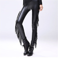 Autumn Winter Plus Size Fashion Women Leggings New Ankle Leggings Mid Leather High Quality Legging 71895 SM6