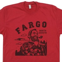 Fargo T Shirt North Dakota Shirt The Big Lebowski Shirt Paul Bunyan Shirt Lumberjack