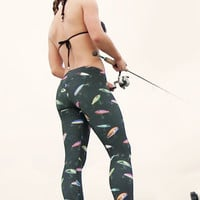 Coastal Lure Leggings - Mid Calf (UPF+50) | CamoGirl™