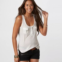 AE Pocket Tank | American Eagle Outfitters