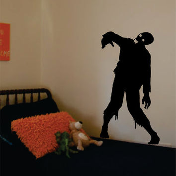 Zombie Design Decal Sticker Wall Vinyl Art Home Room Decor