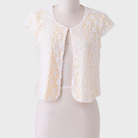In The Sunshine Sequined Bolero