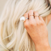 Pretty in Pearls Ring